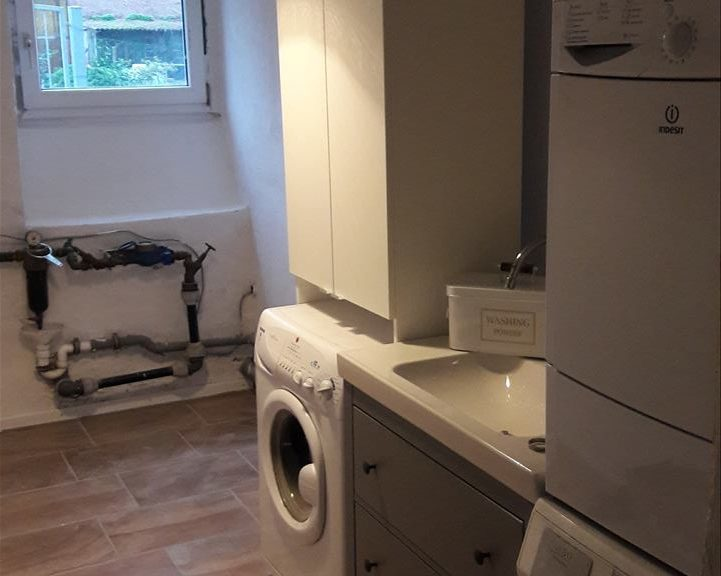 Laundry Room mit Ikea Mobiliar