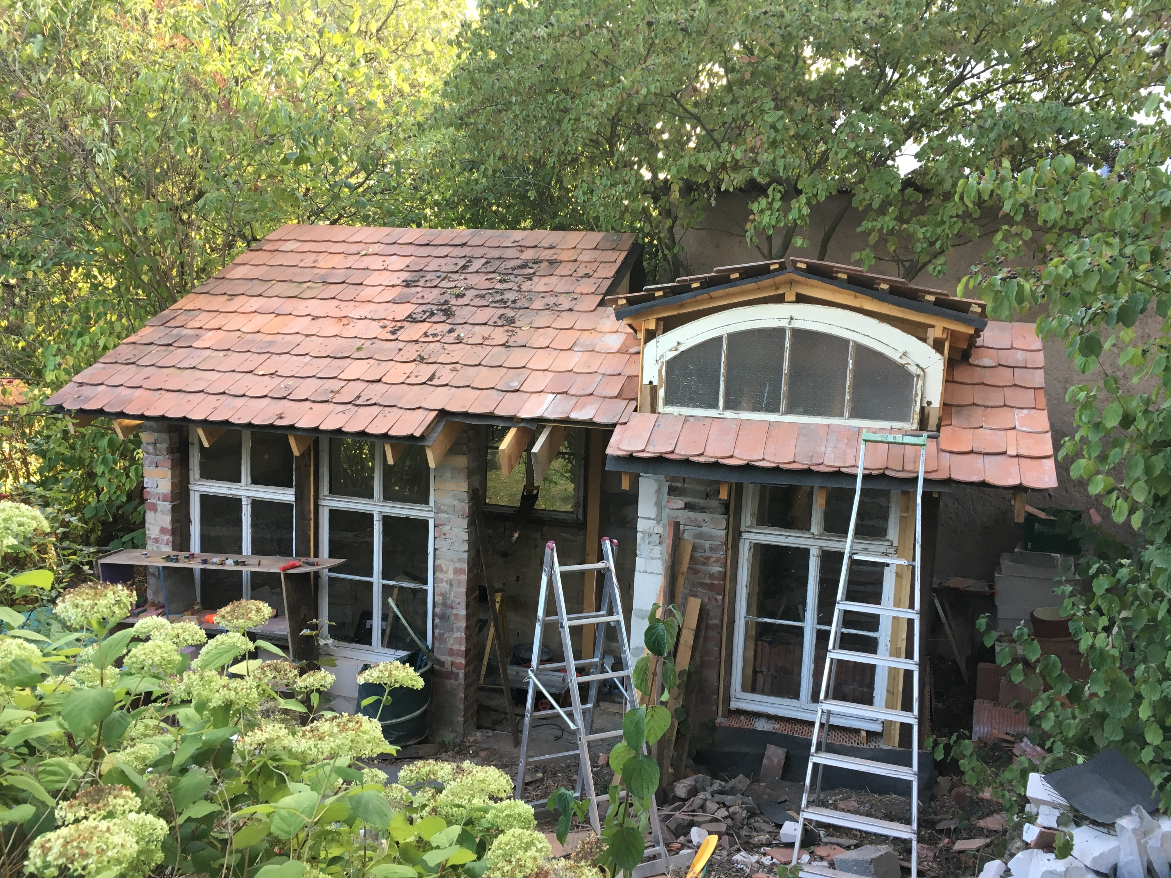 Komplettes Dach